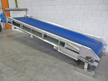 rvs transportband 1000 x 4250 mm