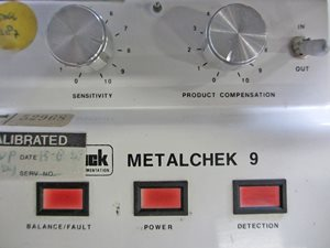Lock Metalchek 9 metaaldetector