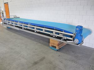 rvs transportband 1000 x 6800 mm